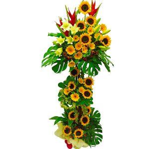 Grand Opening Flower Stand Petaling Jaya - GLORIOUS SUNFLOWER