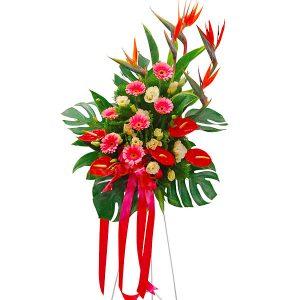 Grand Opening Flowers in Petaling Jaya - AMAZING LORETTA