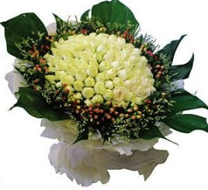Flower Shop in KL Malaysia   Rose Hand-Bouquet-4HB14 Loving You