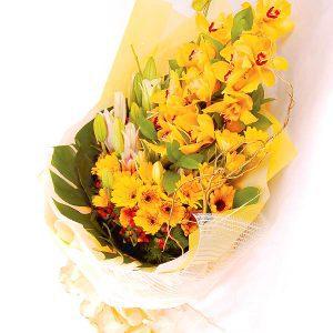 Online Florist Puchong Malaysia - Flower Bouquet GLORIOUS CYMBIDIUM