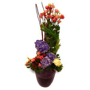 bouquet shop klang valley malaysia - TENTREM V hydrandea carnations flower bouquet