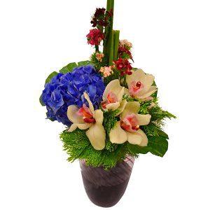 bouquet shop petaling jaya malaysia - LOVE TRIUMPH cymbidium hydrangea flower bouquet