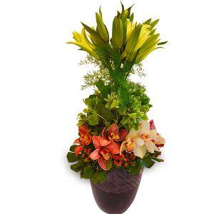 flower arrangements puchong malaysia - FLORAL TENTREM III lilies orchids flower bouquet