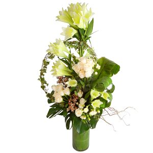 flower arrangments petaling jaya malaysia - DOTINGLY roses lilies flower bouquet