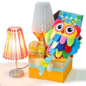 Newborn baby gifts Malaysia - Sleeptime Owl Lamp