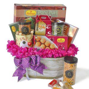 Best Deepavali Gift Ideas Malaysia Delivery - Karunai Vegetarian Hamper Diwali