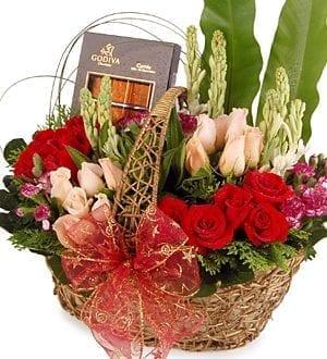 Godiva chocolate gift basket - Chocolate Gifts - Sensuous Godiva