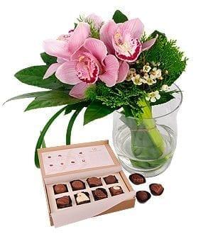 personalised chocolate gift - Chocolate Gifts - Sweet Cymbidian