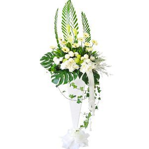 Flower Wreath for Funeral Malaysia Delivery Petaling Jaya KL - INNOCENCE funeral wreathFlower Wreath for Funeral Malaysia Delivery Petaling Jaya KL - INNOCENCE funeral wreath