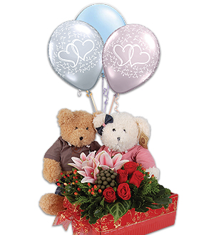 Home → Florist Gifts → Valentine → Valentine Hugs n Kisses