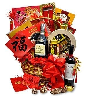 Chinese New Year Hamper Basket 8CN13-A