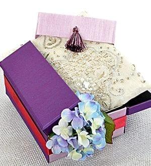 Deepavali gift box Malaysia 2018 - Kanina Embroidery