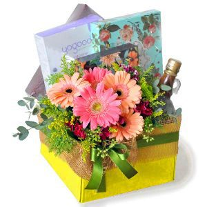 Get Well Soon Hamper Delivery Malaysia - Wholesome Treats Wellness gift