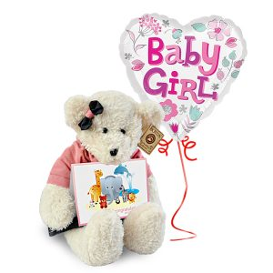 best gift for newborn baby girl malaysia - Playmate Boyds Lady Bear
