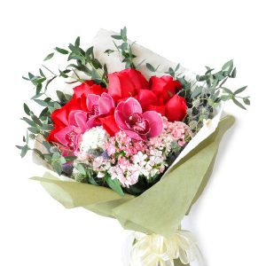 Send Flowers Kuala Lumpur Malaysia - Premium Online Florist Flower Bouquet - Ode Cymbidia
