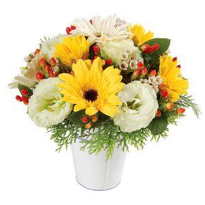 Small Bouquet of Flowers Malaysia - Sweet Daisy gerberas flower bouquet