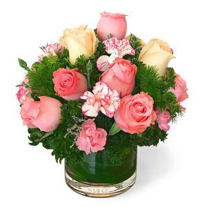 table flower arrangements malaysia - Loving Rosy roses carnations flower bouquettable flower arrangements malaysia – Loving Rosy roses carnations flower bouquet