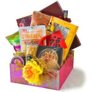CNY Hamper Malaysia - Blessed Happiness Chinese New Year hamper