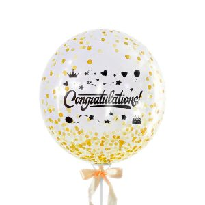 Congratulation Big Glittery - Congratulation Balloon Malaysia Bobo Balloons