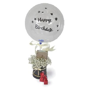 Balloon Chocolate Flower Gifts set delivery KL Malaysia - Birthday Sweet Breath